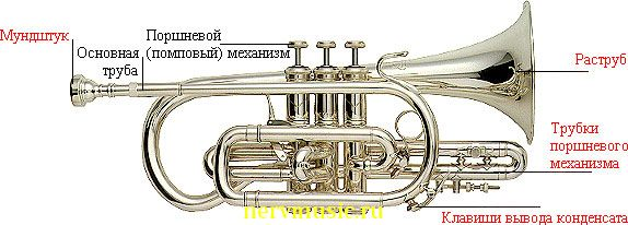 Корнет | Музыкальная энциклопедия от А до Я | Музыкальные инструменты