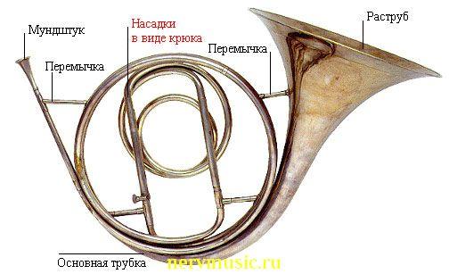 Натуральная валторна | Музыкальная энциклопедия от А до Я | Музыкальные инструменты