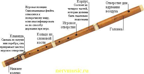 Одноклавишная флейта | Музыкальная энциклопедия от А до Я | Музыкальные инструменты