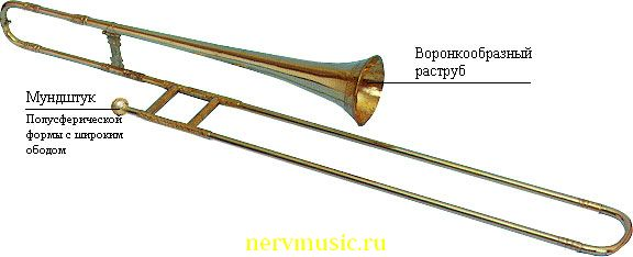 Сакбут | Музыкальная энциклопедия от А до Я | Музыкальные инструменты