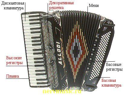 Клавишный аккордеон | Музыкальная энциклопедия от А до Я | Музыкальные инструменты